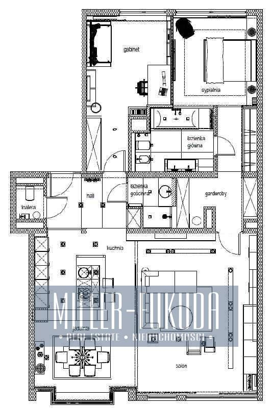 Mieszkanie do wynajmu - Warszawa, Śródmieście, Ulica Parkowa (Nieruchomość MIF09948)